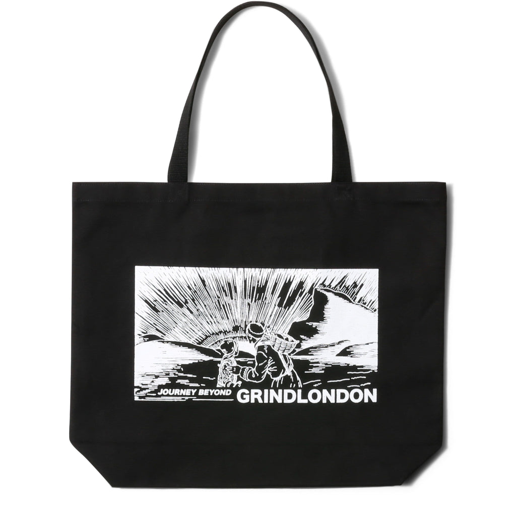 GRINDLONDON BLACK TOTE