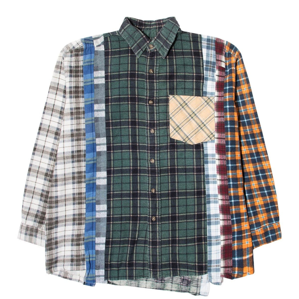 Needles Shirts ASSORTED / XL 7 CUTS FLANNEL SHIRT SS21 24