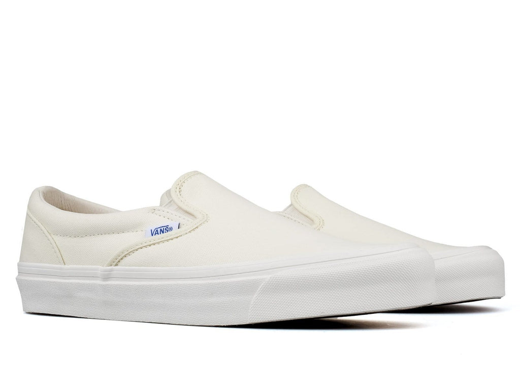 Vault by Vans OG CLASSIC SLIP-ON LX White (canvas)