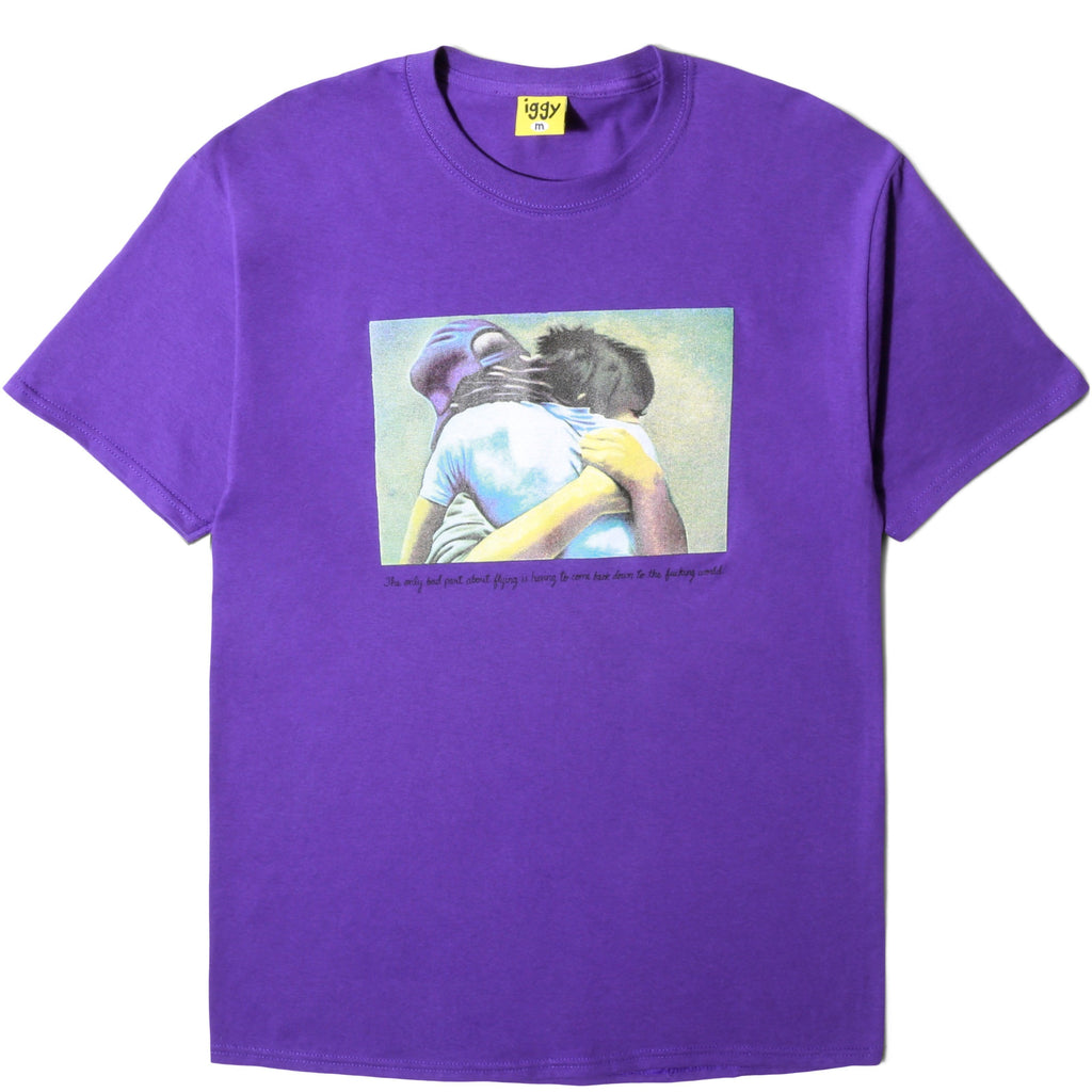 Iggy STREETWISE T-SHIRT Purple