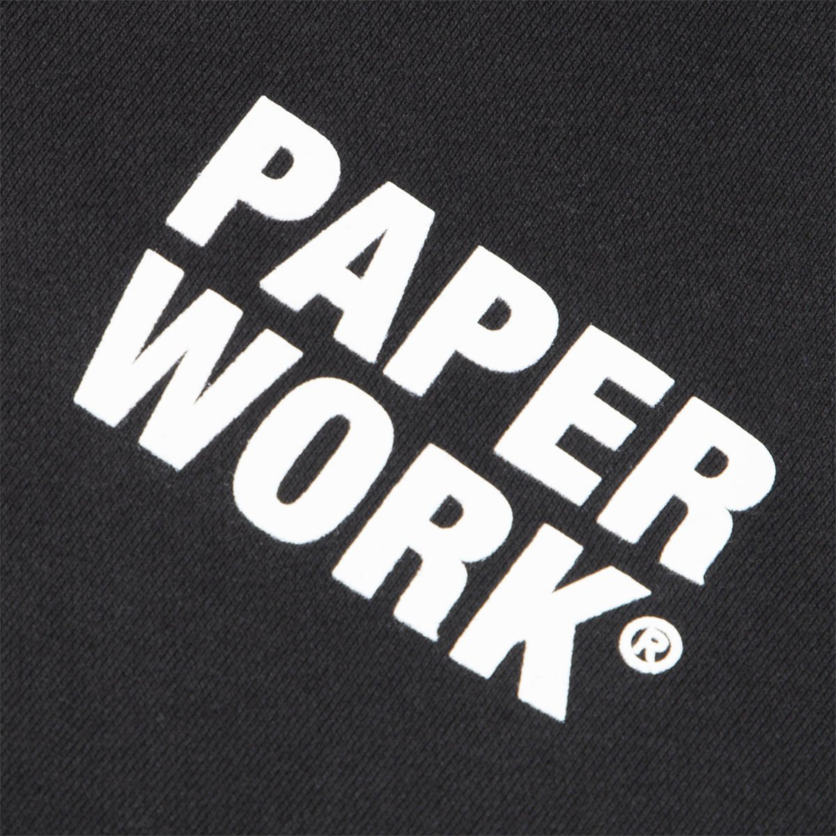 Paper Work Standard Issue Hoodie Black