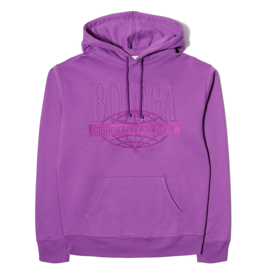 Bodega EMBOSS GLOBE HOOD Grape
