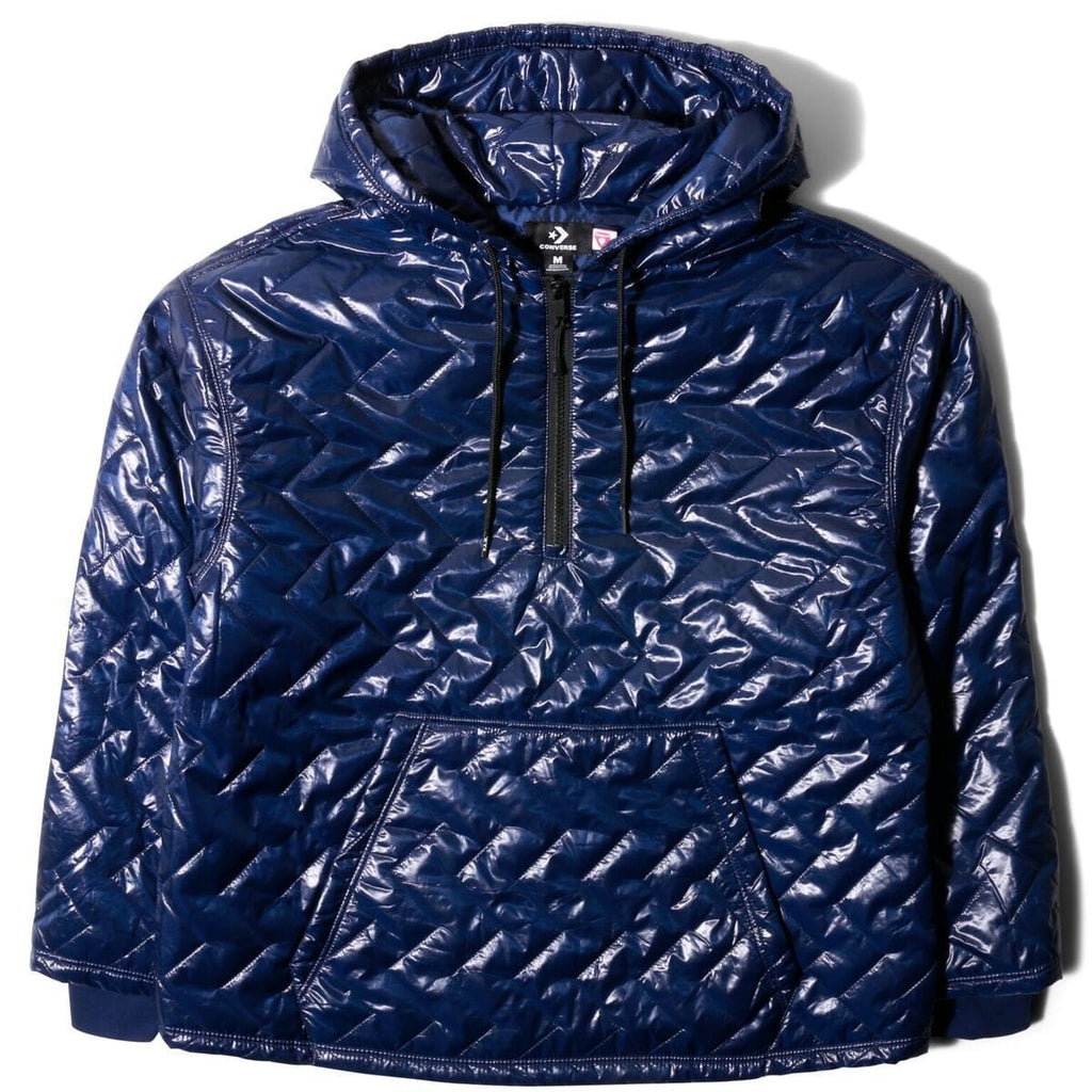 Converse x P.A.M. QUILTED HOODIE (NAVY)[10016962-A01]