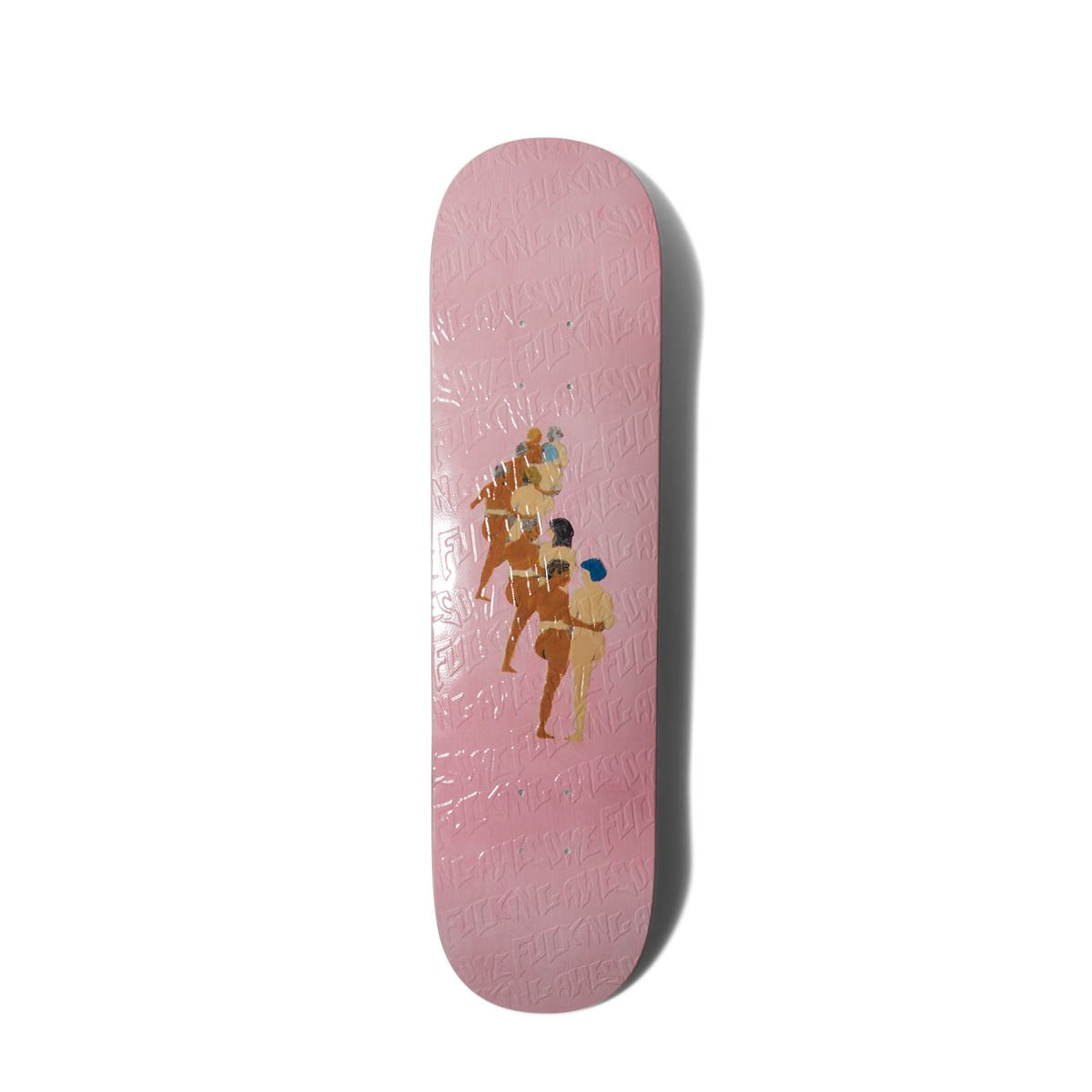 "Fucking Awesome Bags & Accessories MISC / 8 IN. WOMAN DILL PAINTING SKATE DECK (8"")"