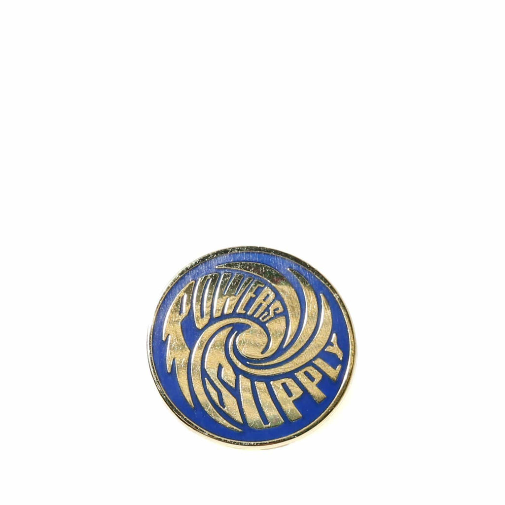 Powers HURRICANE ENAMEL PIN Gold Plated