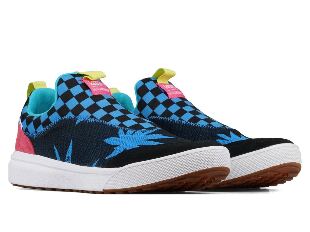 Vault by Vans UA ULTRARANGE SOCK LX Cali Leaf Black/Blue