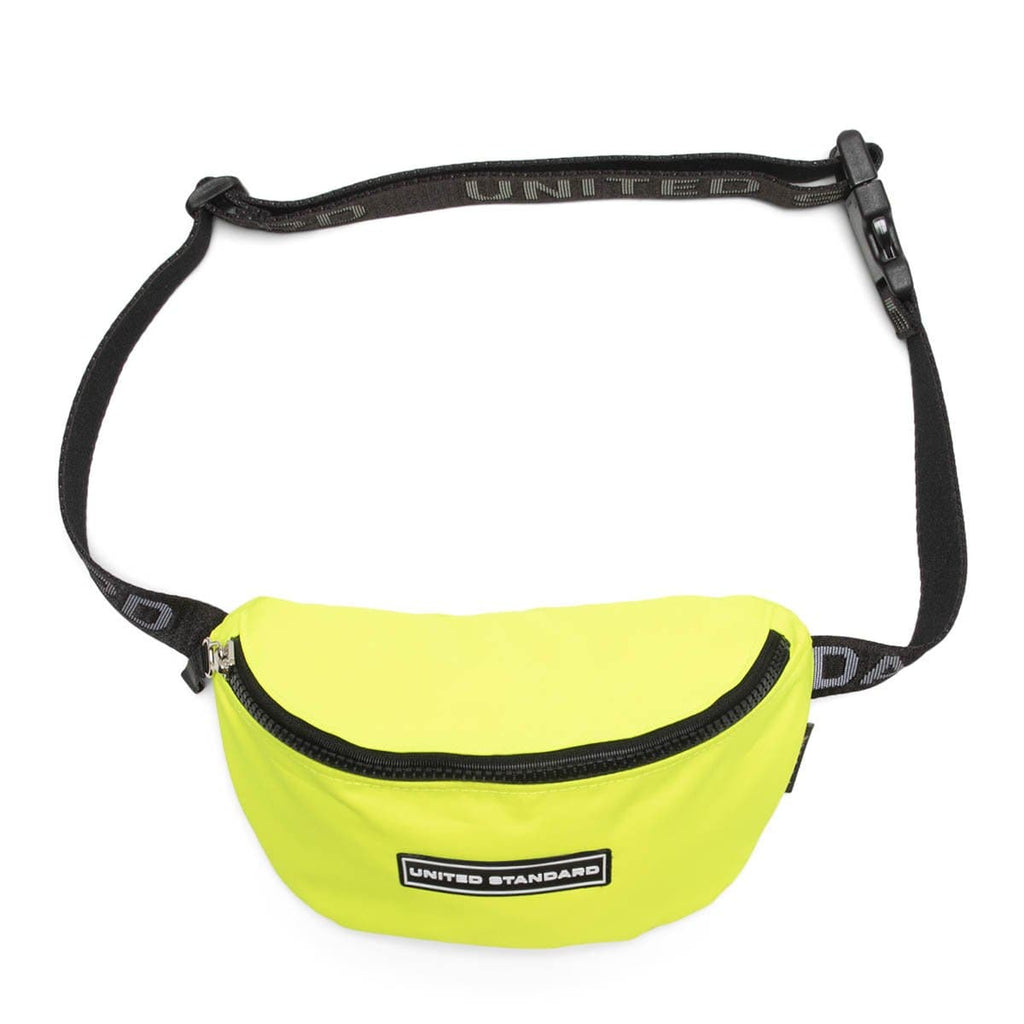 United Standard Bags & Accessories GIALLO FLUOTEX / O/S LOGO FANNY PACK