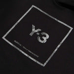 Load image into Gallery viewer, adidas Y-3 sweat SQUARE LABEL GRAPHIC HOODIE