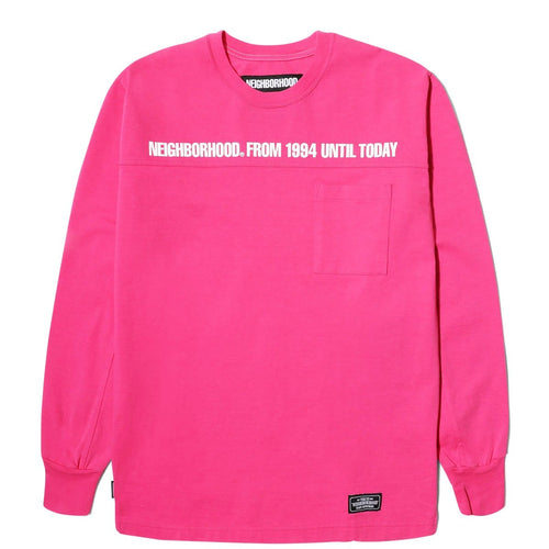 Neighborhood CLASSIC-P / C-CREW . LS Pink
