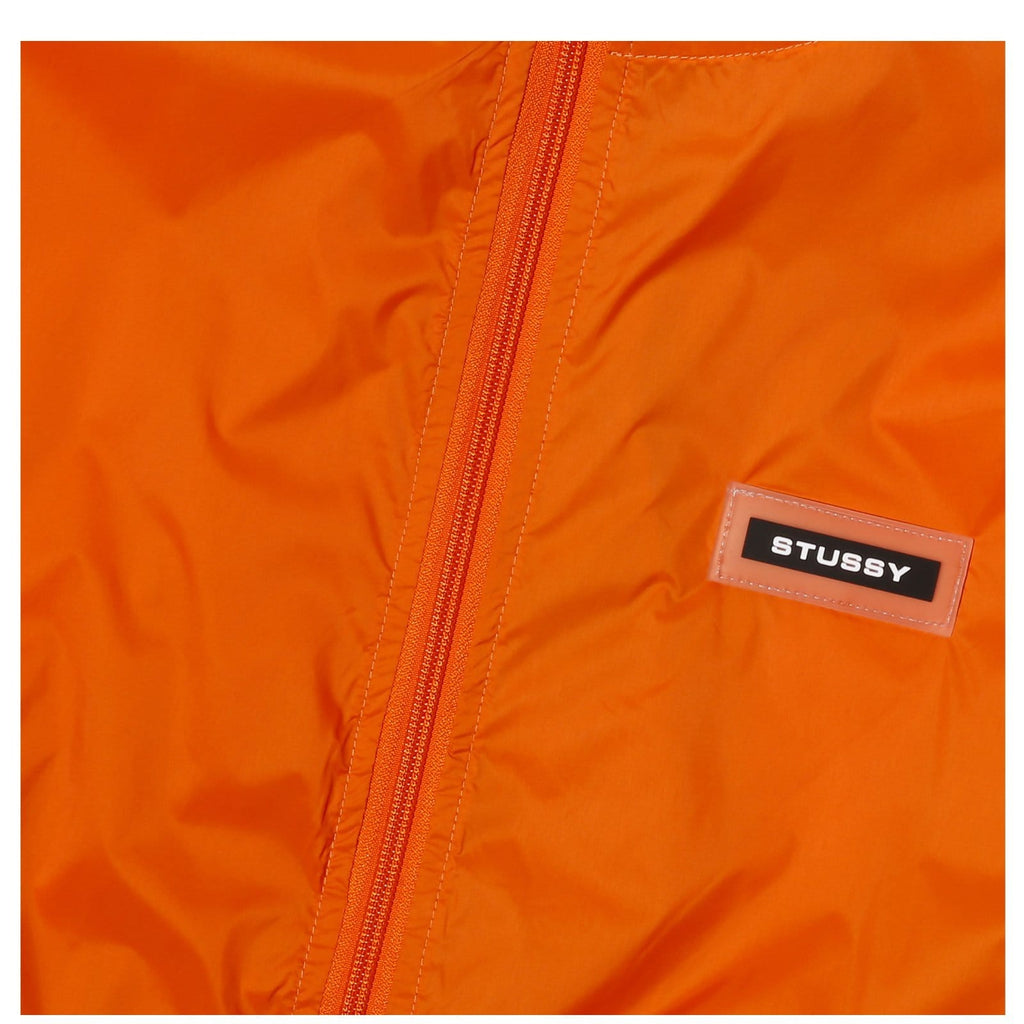 Stussy SPORT NYLON JACKET Orange