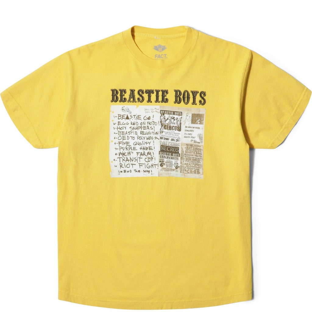 FACT. x Beastie Boys PUNK SS Yellow