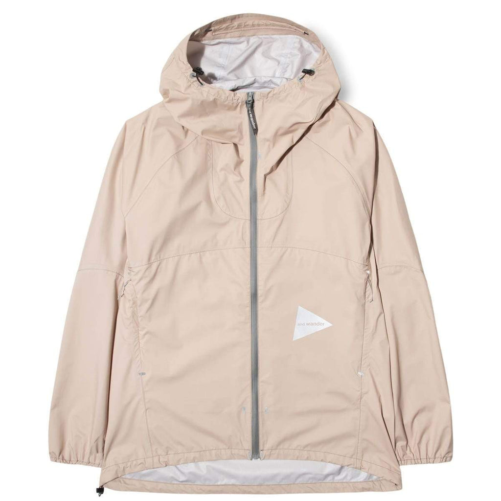 and wander Outerwear 3L LIGHT RAIN JACKET