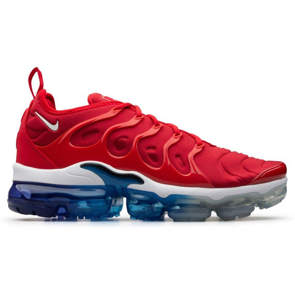 new product 1a818 42b0f closeout mens nike air vapormax plus red c0d90 a9571