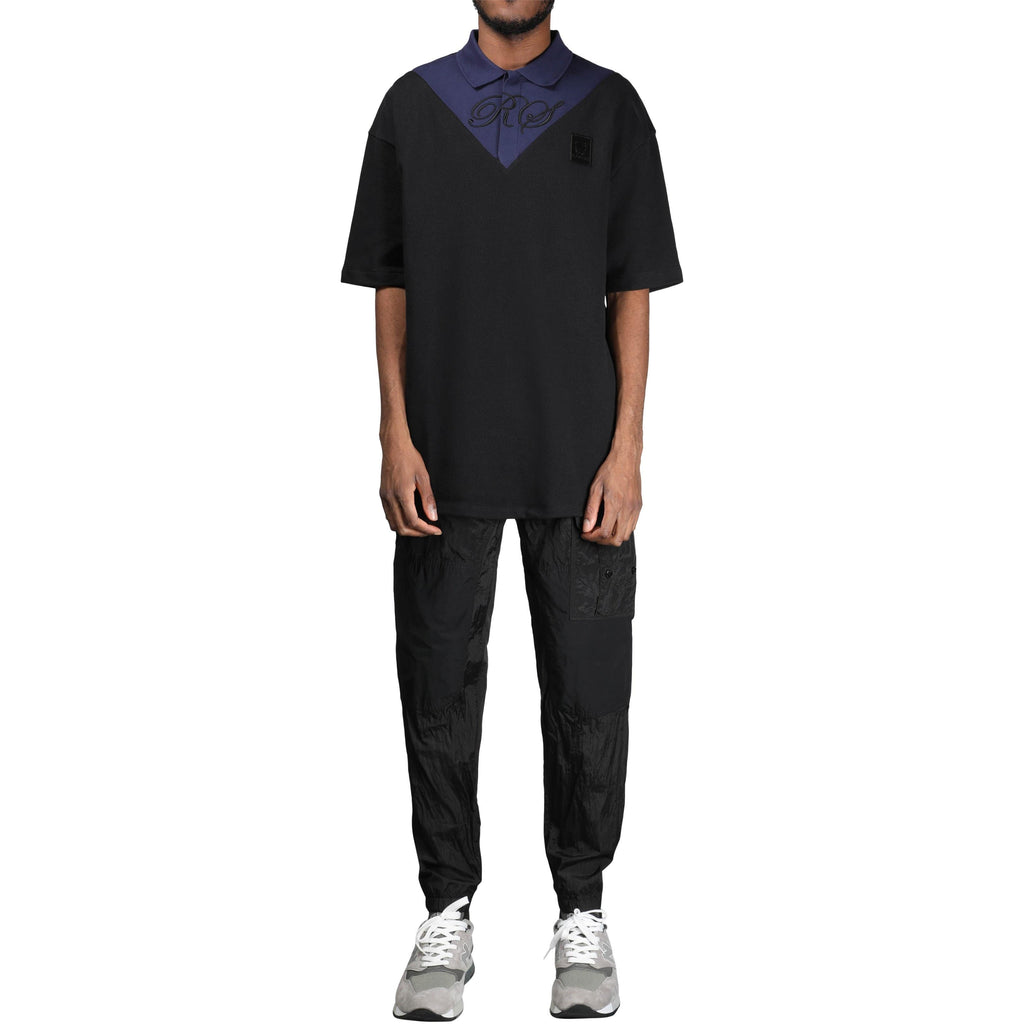 a8c9ef1529 Fred Perry · x Raf Simons OVERSIZED V-INSERT PIQUE SHIRT