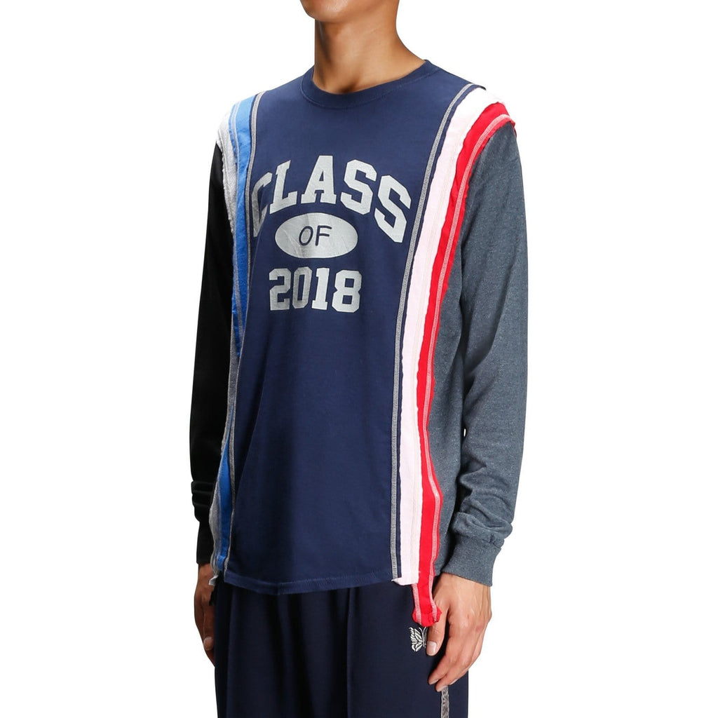 Needles 7 CUTS L/S TEE COLLEGE 8 Assorted