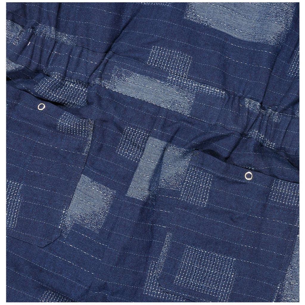 LC23 PATCHWORK OVERALL Blue