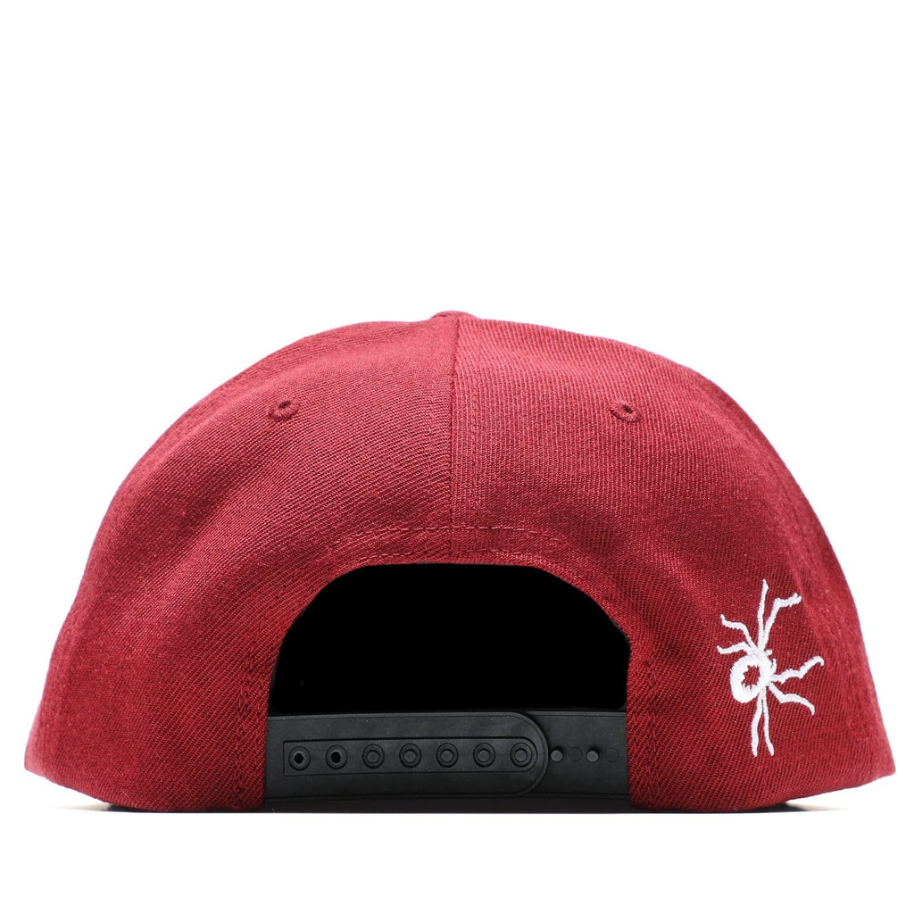 Pleasures VENOM SNAPBACK HAT Maroon