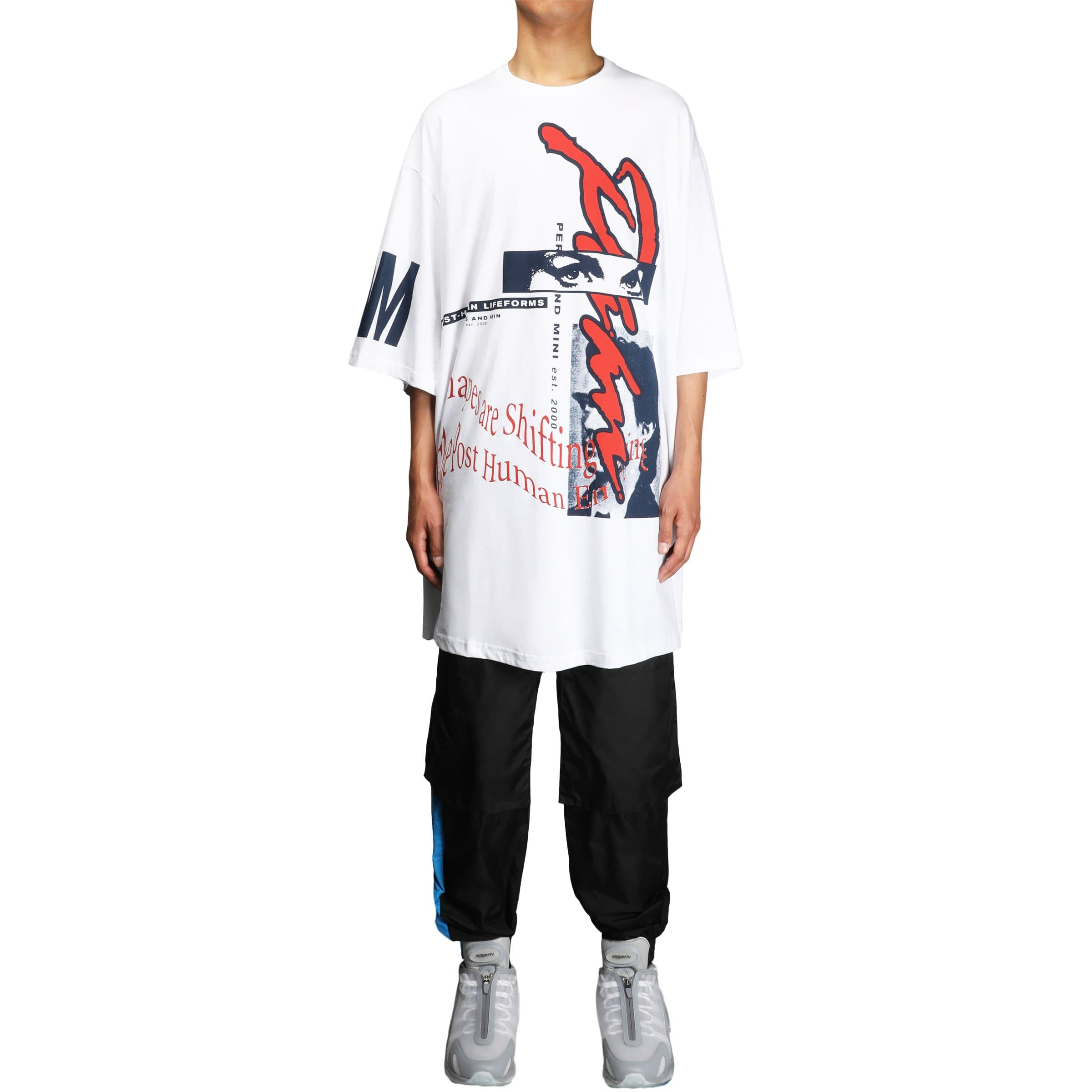 Perks and Mini T-Shirts WHITE / O/S WINDOW CLEAN OVERSIZED SS TEE