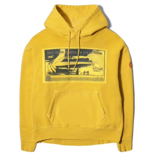 Cav Empt EACH EPOCH HEAVY HOODY Gold