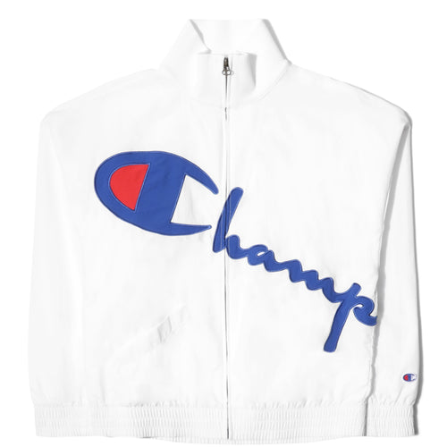 Champion Europe WOMEN'S FULL ZIP JACKET White