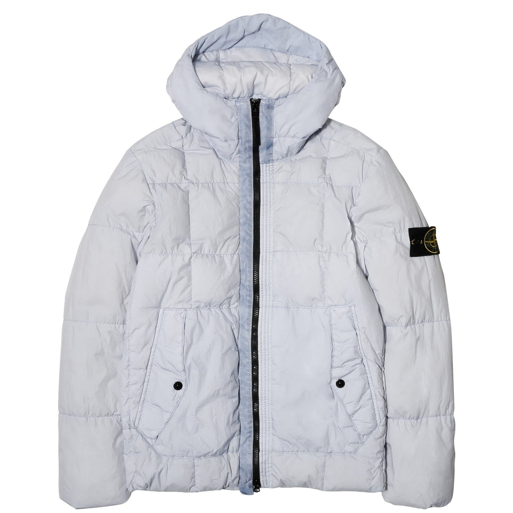 Stone Island REAL DOWN OUTERWEAR 691541223 Ice