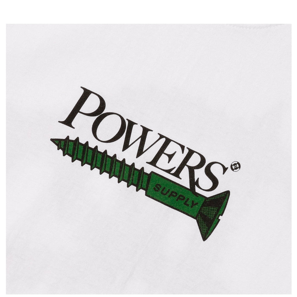 Powers PS SCREW TEE White