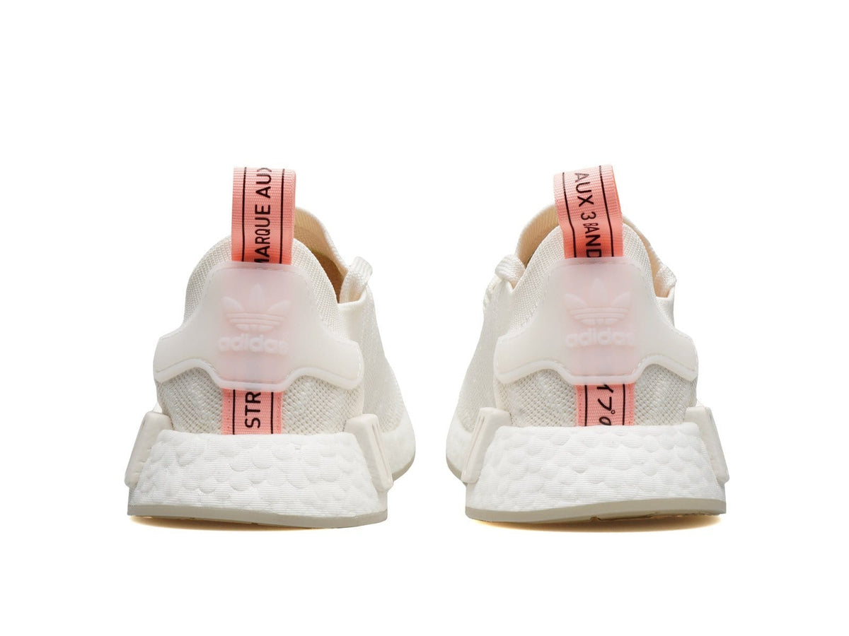 Women S Nmd R1 Stlt Pk Running White Running White Clear Orange