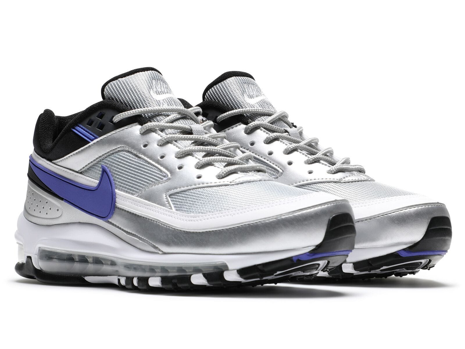 factory price a2461 eb0b9 Nike AIR MAX 97 BW (Metallic Silver Persian Violet-Black)