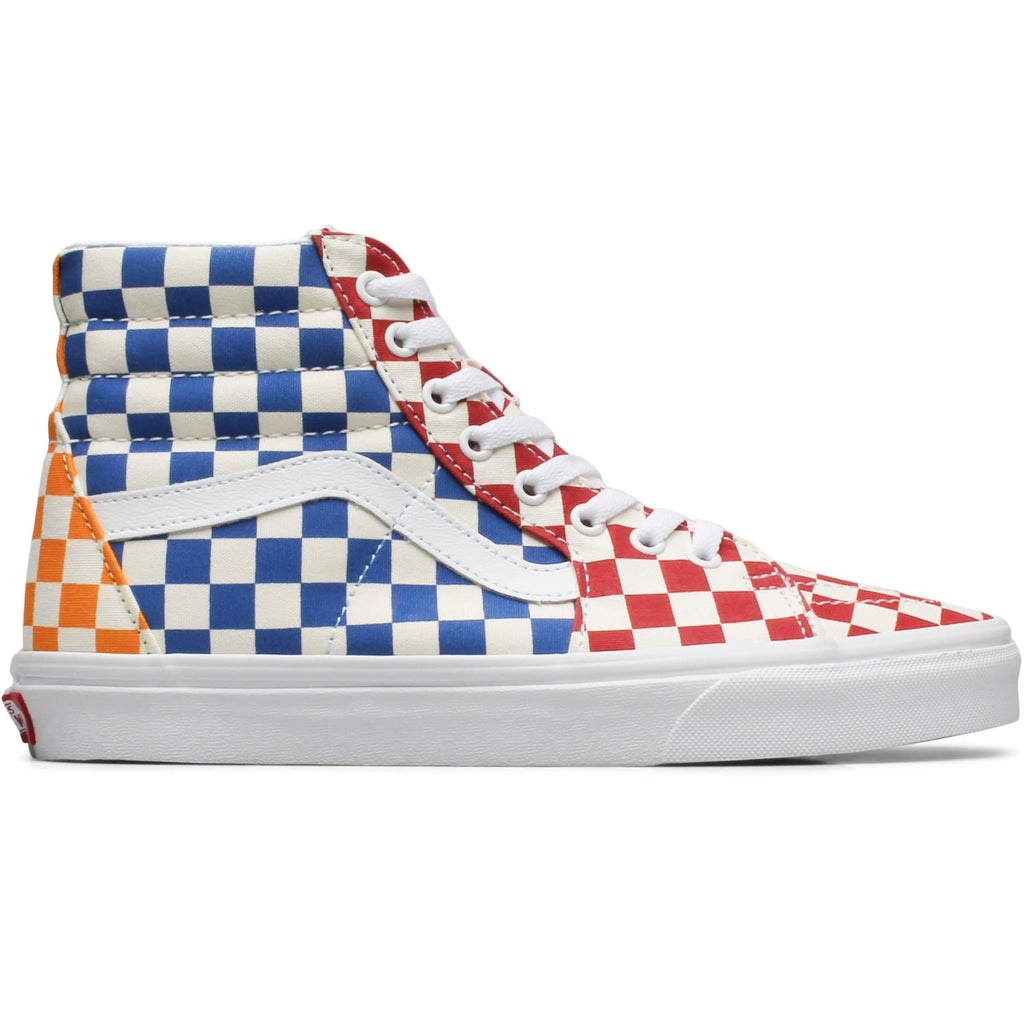 U SK8-HI (VLV) (CHECKERBOARD) MULTI/TRUE WHITE
