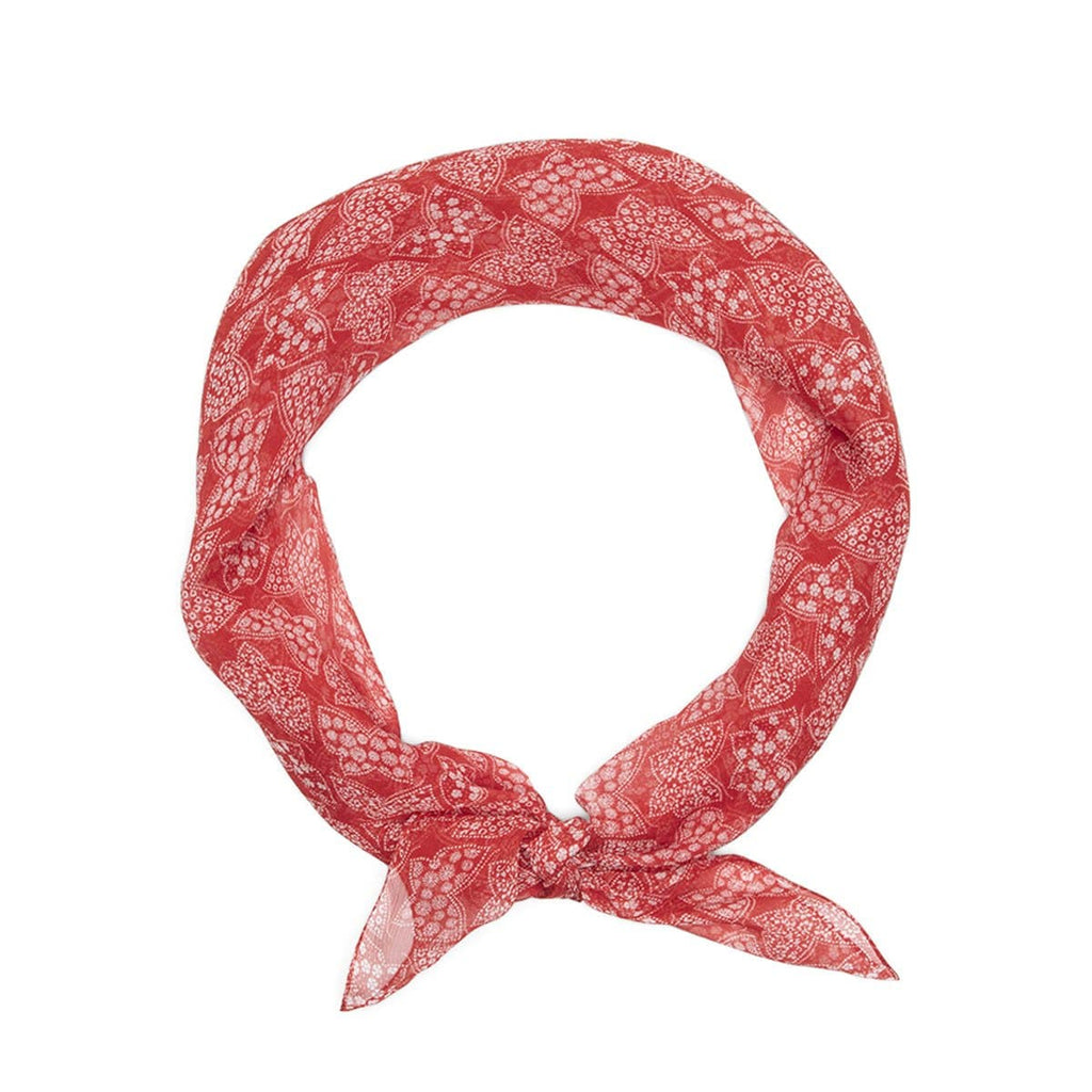 Needles Headwear RED / O/S SCARF