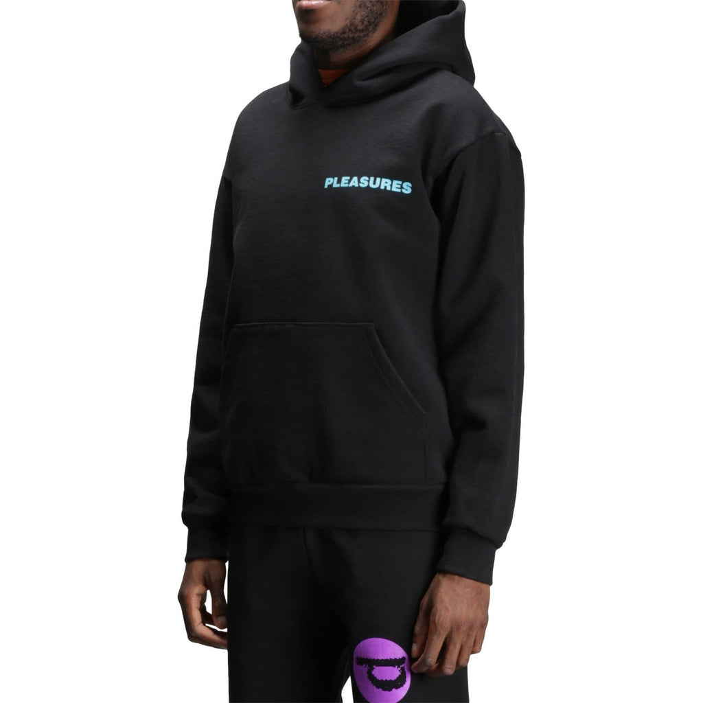 Bodega x Pleaures Innersect TALK TO ME HOODY Black