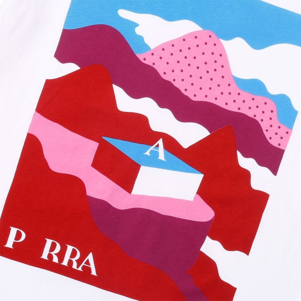 by Parra LOST CITY BOX T-SHIRT (White)