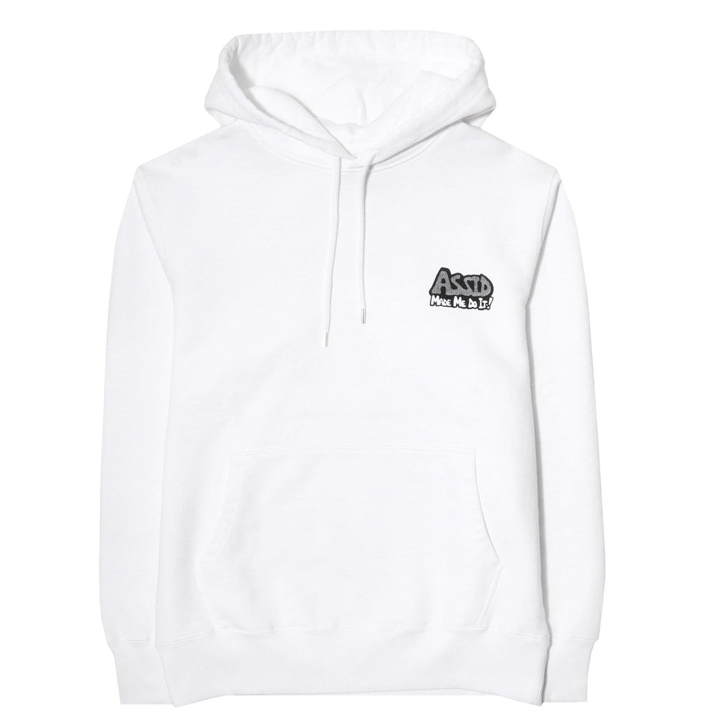 Assid ASSID MADE ME DO IT HOODY White