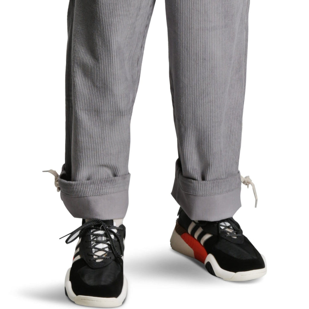 Perks and Mini RETURN CORD PANTS Light Grey