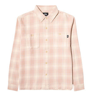 Stüssy Shirts BEACH PLAID SHIRT