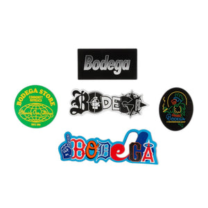 Bodega BDGA Sticker Pack Multi