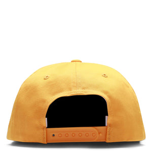 By Parra Headwear GOLD YELLOW / O/S 6 PANEL HAT GARAGE OIL