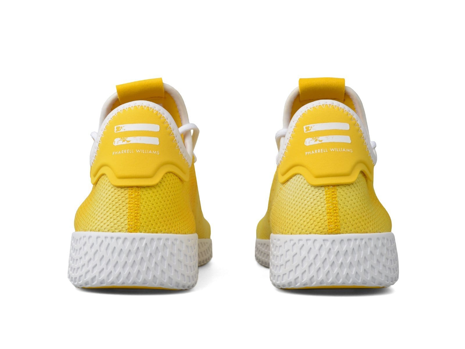 11fe5edc79493 Adidas x Pharrell Williams Holi Tennis HU Yellow Running White Running White