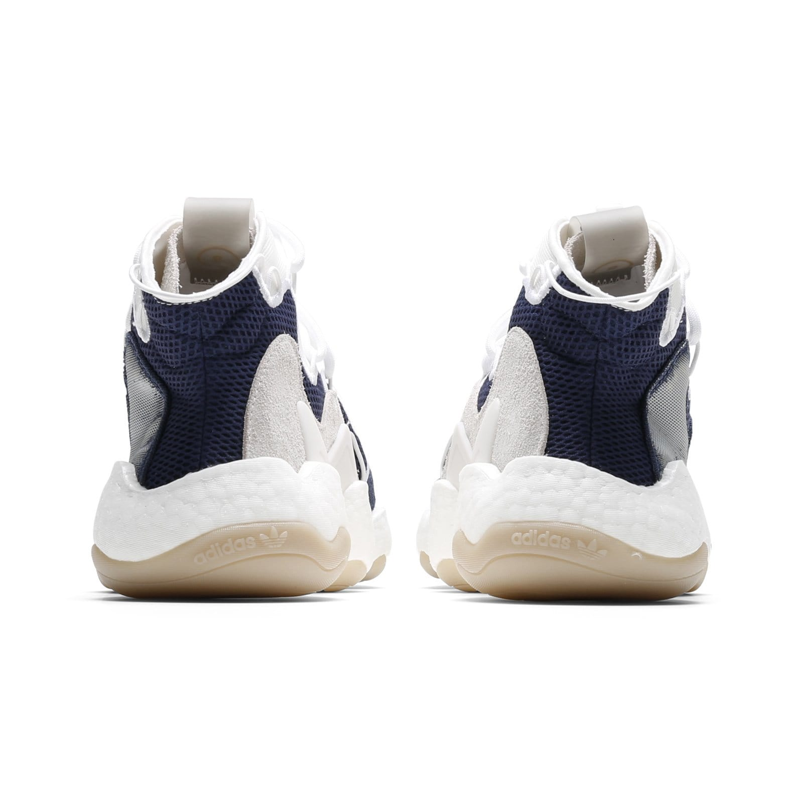 c84ea22f5a8 Adidas x Bristol Studio CRAZY BYW LVL I Collegiate Navy Running White Cloud  White. Next