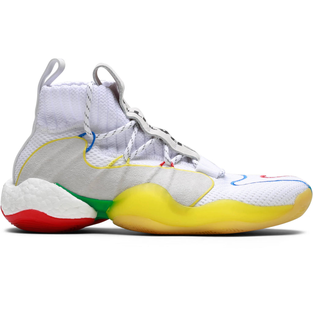 Adidas x Pharrell Williams CRAZY BYW LVL FTWWHT/SUPCOL