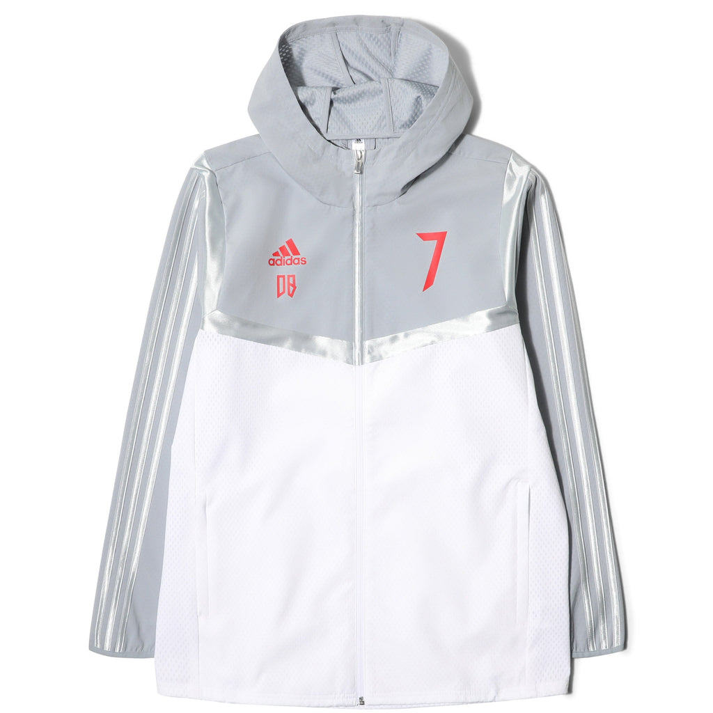 034af9efb8 Adidas PREDATOR HD JACKET DB White Light Grey