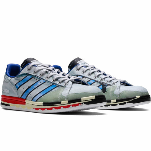 adidas x Raf Simons RS Micro Stan Silver Met.//Red//Red Trainers Sneakers