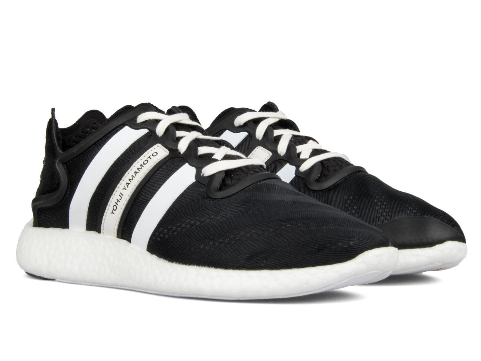 c5e0ae415e42c Adidas Y-3 YOHJI RUN Core Black Footwear White Core Black – Bodega