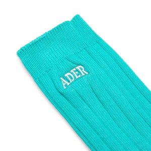 Ader Error Bags & Accessories GREEN / OS TONE SOCKS 08