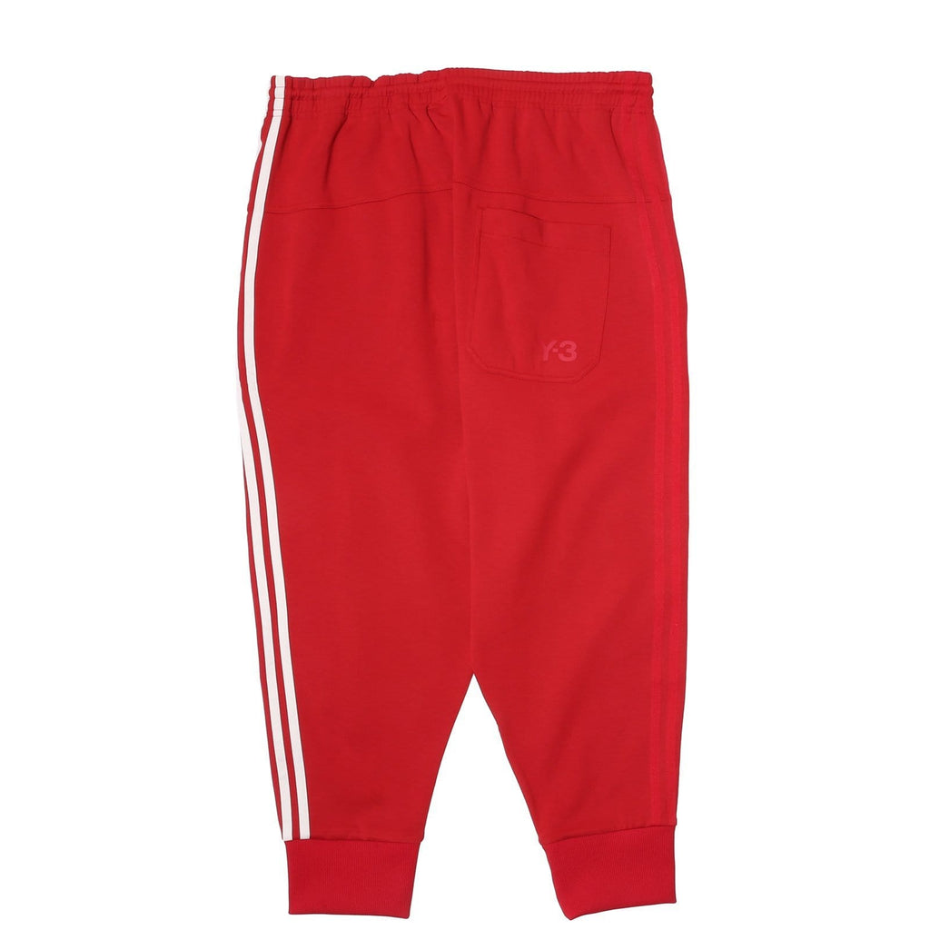 Adidas Y-3 3-STRIPES TRACK PANTS Chili Pepper/Undyed