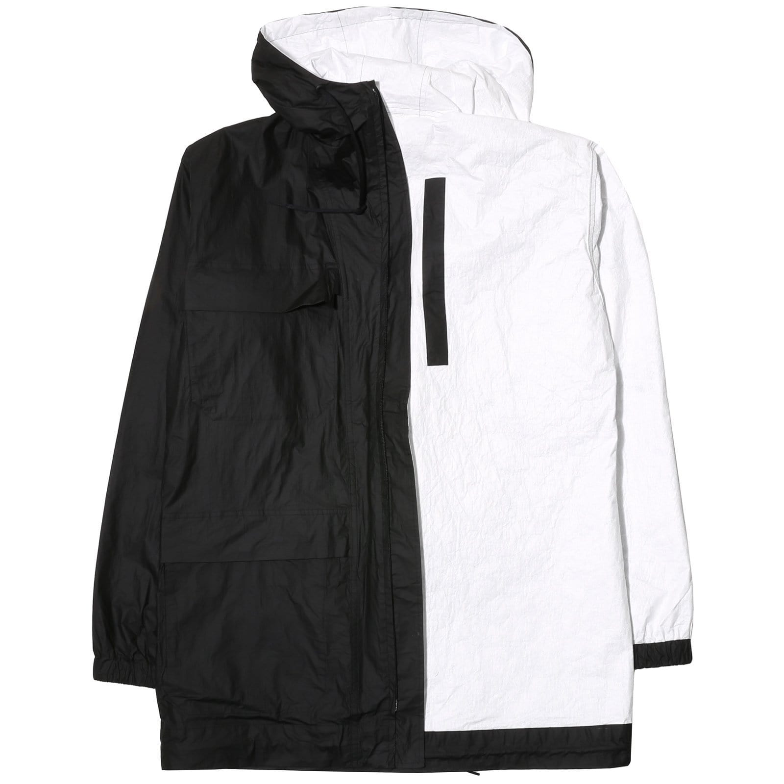 5969c438f38c Y-3 REVERSIBLE JACKET Black Core White – Bodega