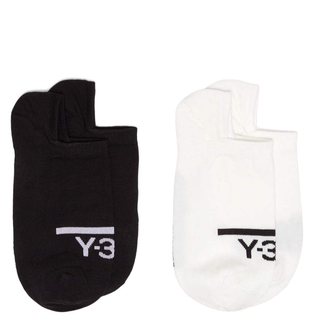 adidas Y-3 Bags & Accessories BLACK/WHITE / O/S Y-3 2PP INVI SOCKS