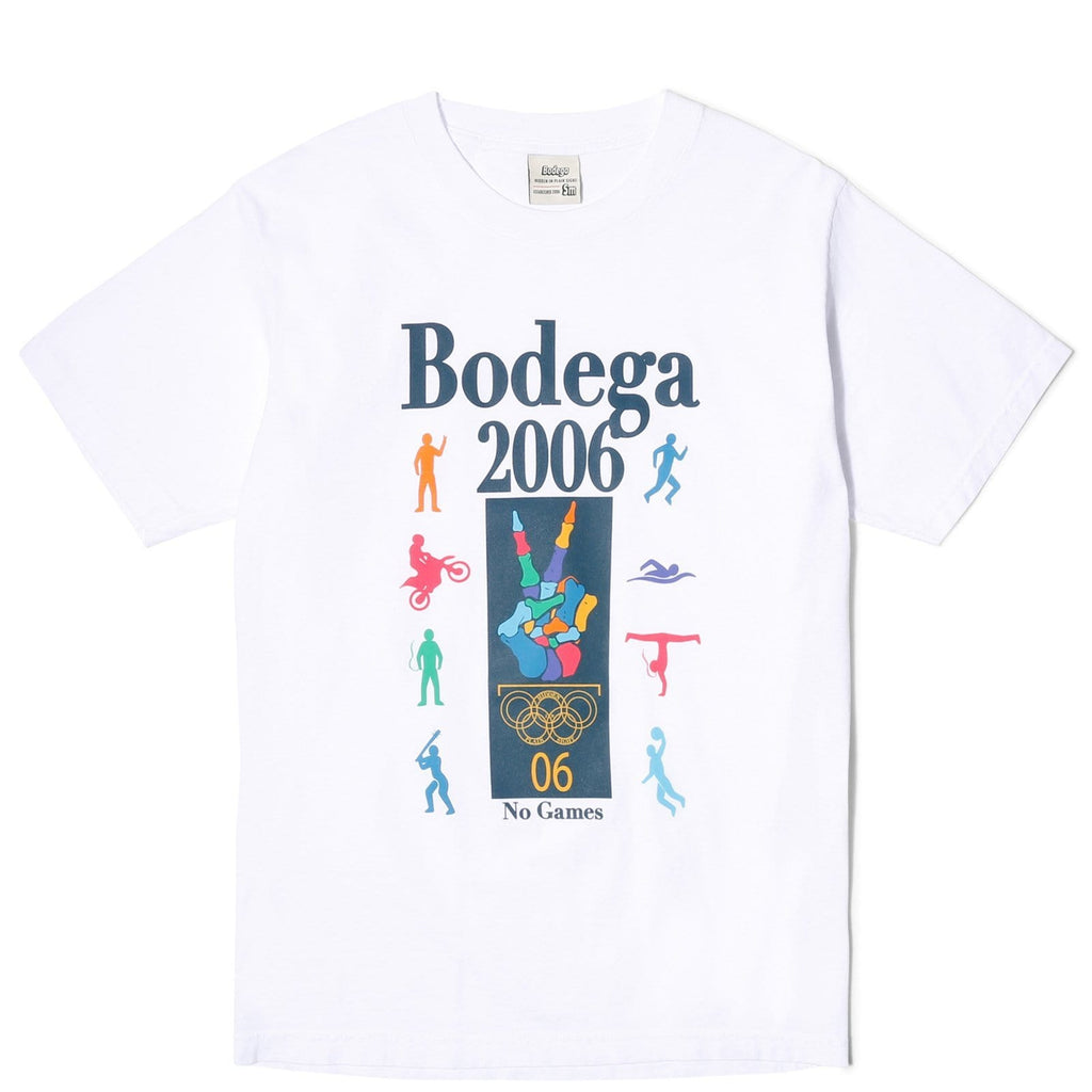 Bodega NO GAMES TEE White