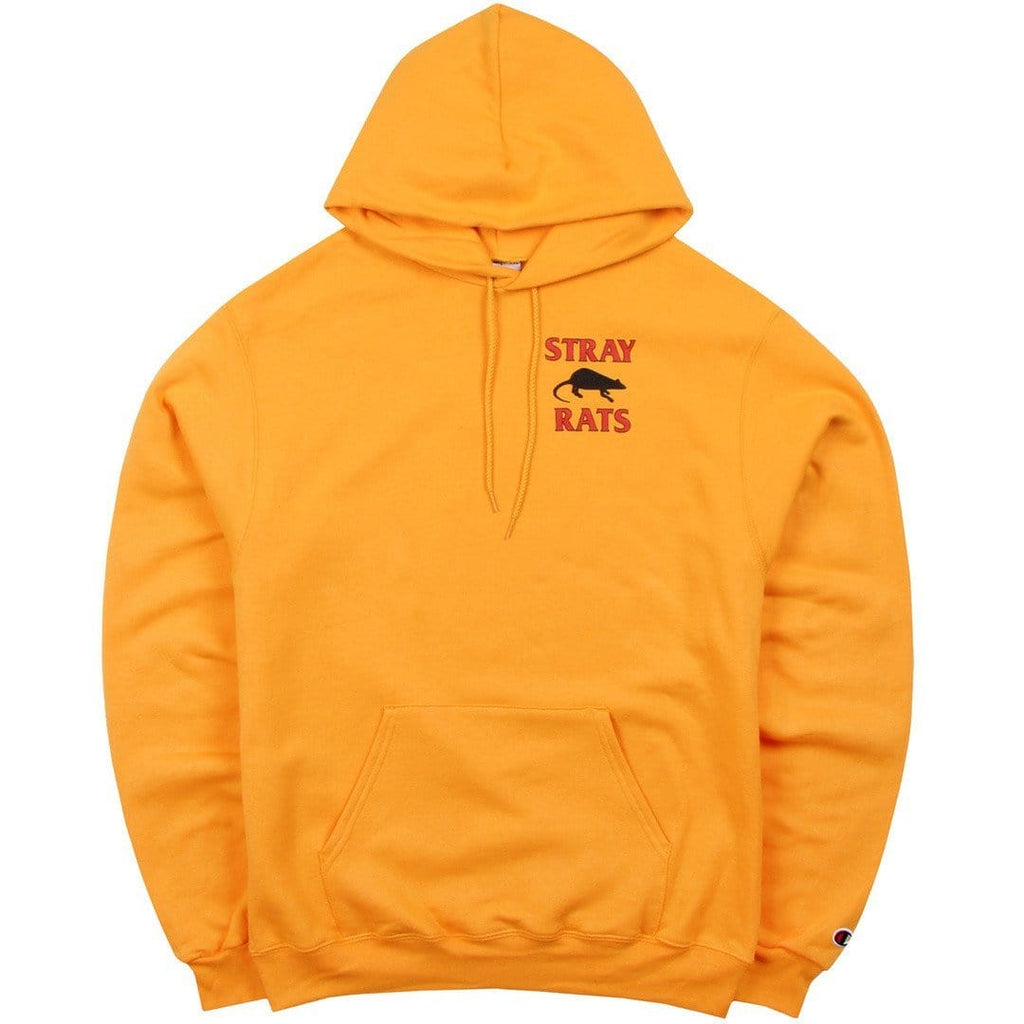 Stray Rats RODENT HOODIE Yellow