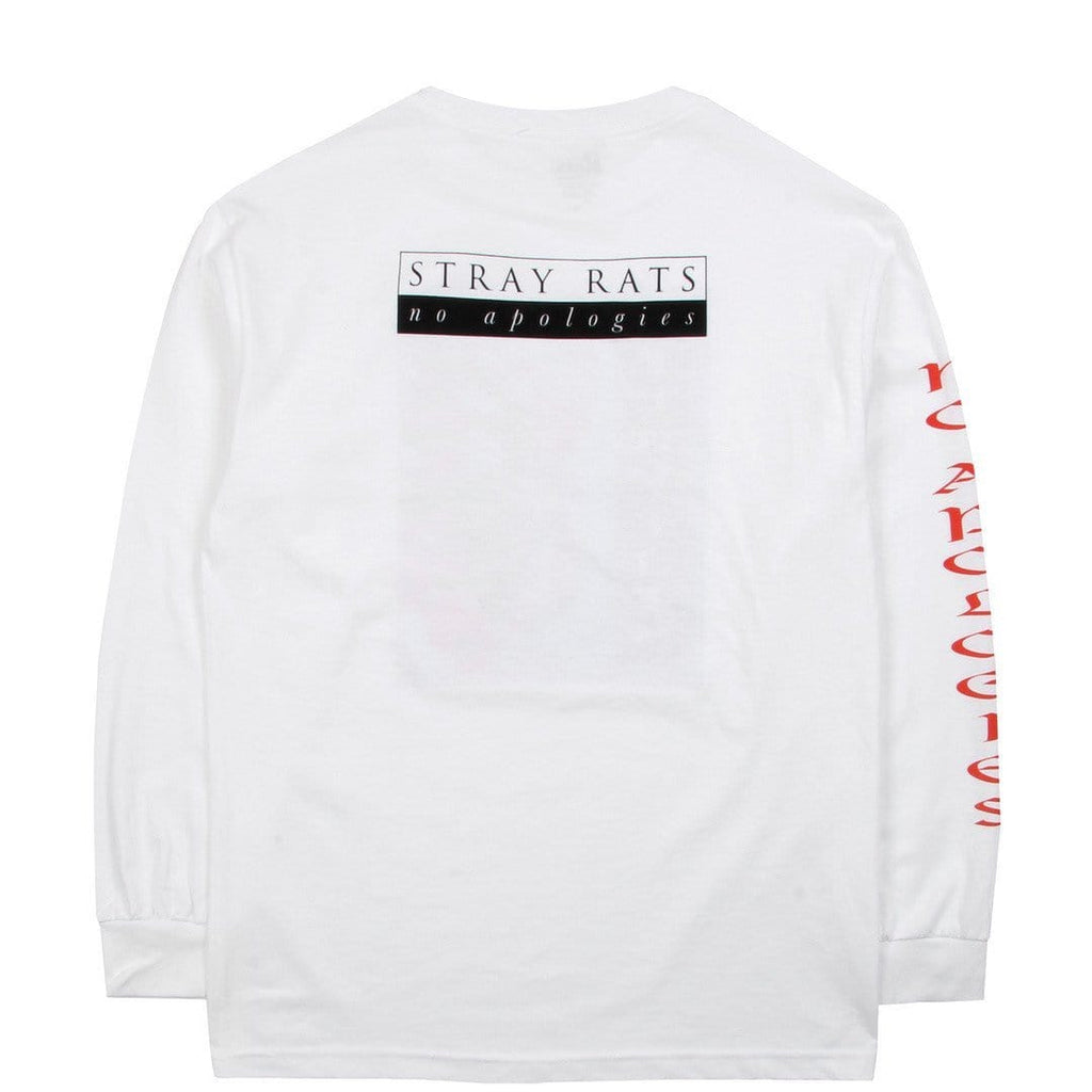 Stray Rats INDIAN DANCE LONGSLEEVE White